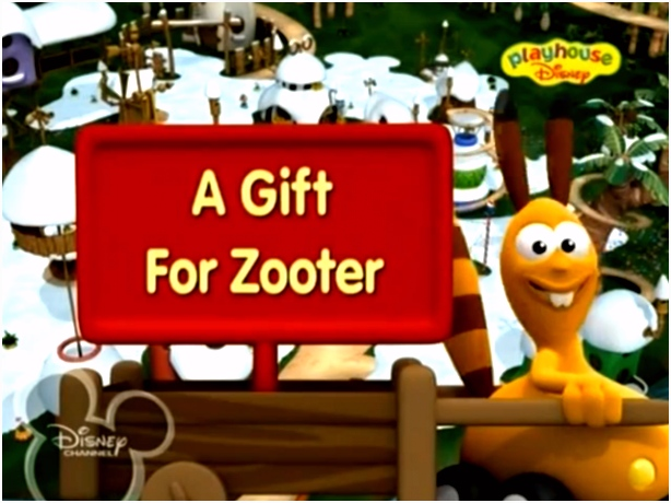 Jungle Junction A Gift for Zooter Title