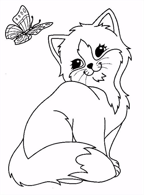 Kat Kleurplaten En En En Kleurplaten Kat En Hond – wakashiragafo