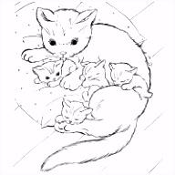 Honden En Poezen Kleurplaten Printen.8 Kleurplaten Kat Sampletemplatex1234 Sampletemplatex1234