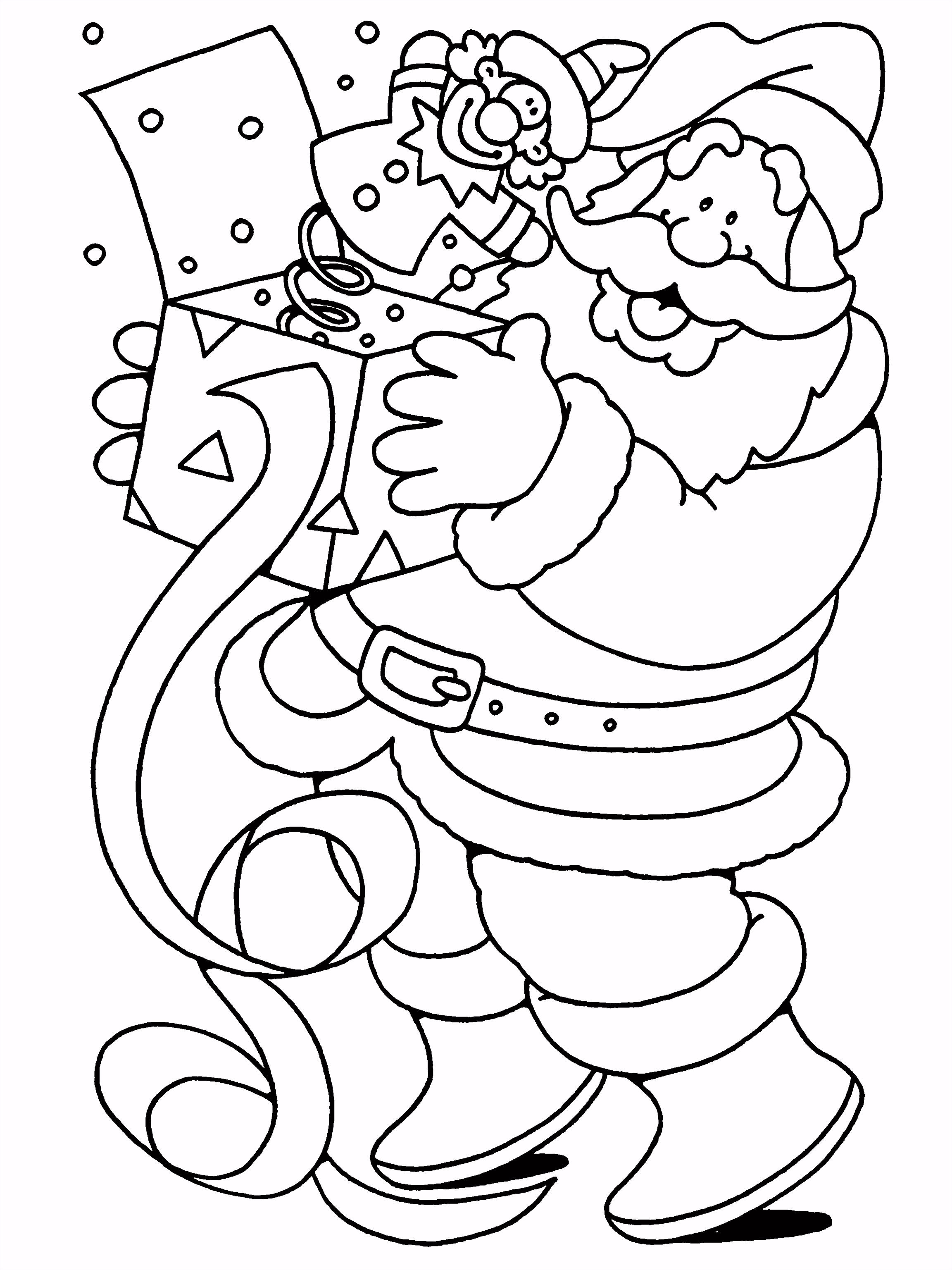 Kleurplaten Paradijs Kleurboek Kerstmis
