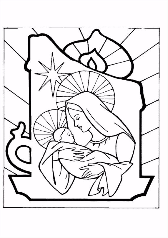 Maria Een Kerstman Tekenen Tokyoughoul Re Kousatu Netabare