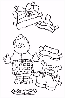 87 beste afbeeldingen van Paper Dolls to Colour Paper puppets