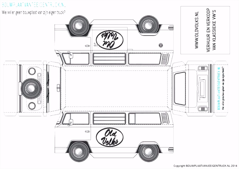 Kleurplaat Vrachtwagen Mercedes ARCHIDEV