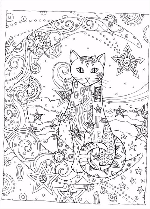 Ажурные трафареты котов Katten