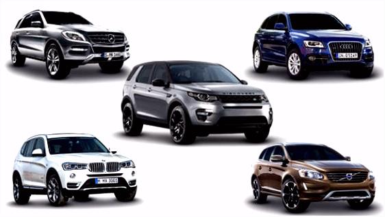 Spec parison Land Rover Discovery Sport vs Audi Q5 vs BMW X3 vs