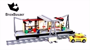 Ecouter et télécharger Lego City Train Station Lego Speed