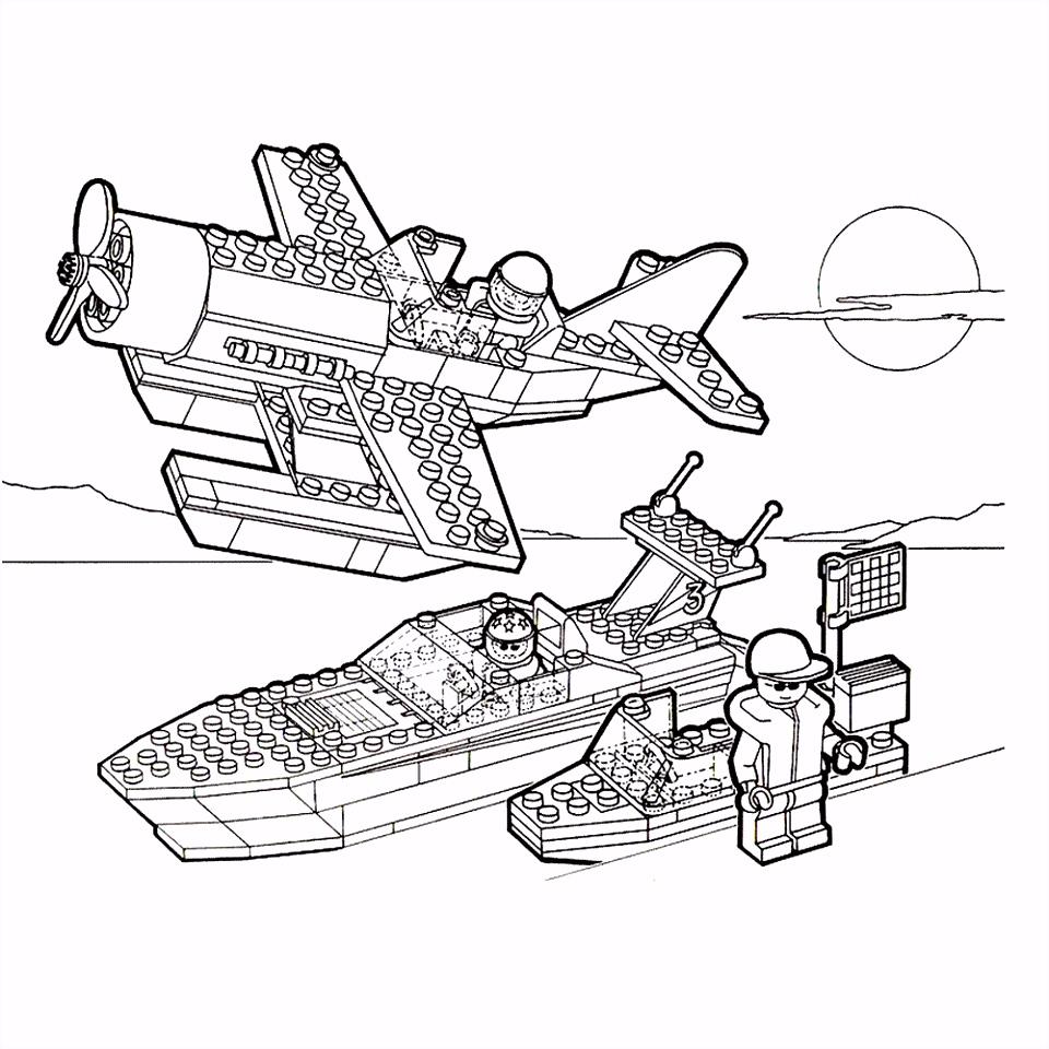 Leuk voor kids – Lego vliegtuig