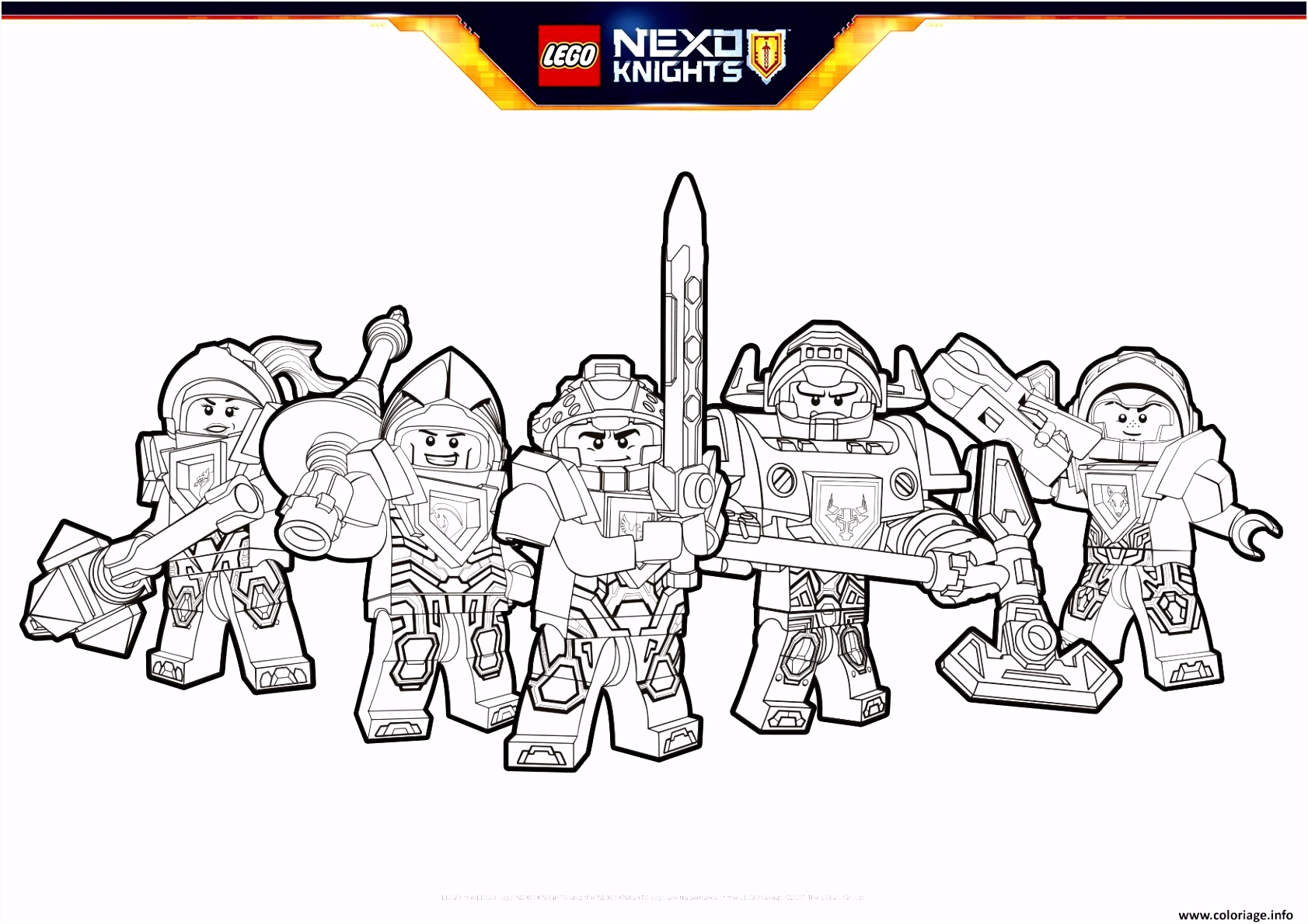 Coloriage Lego Coloring 2017 Printables que
