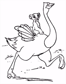 153 best Coloring Pages LineArt Disney Lion King images on