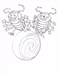 19 best A Bugs Life Coloring Pages images on Pinterest in 2018