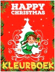 ❄ Happy Christmas ❄ Kleurboek ❄ Fijne Kerst