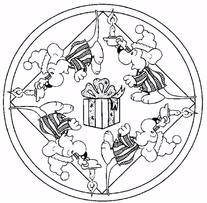 Kleurplaten Mandala Sinterklaas Kleurplaten Mandala Hond Archidev D7mi23jhk5 C4vruunlpu