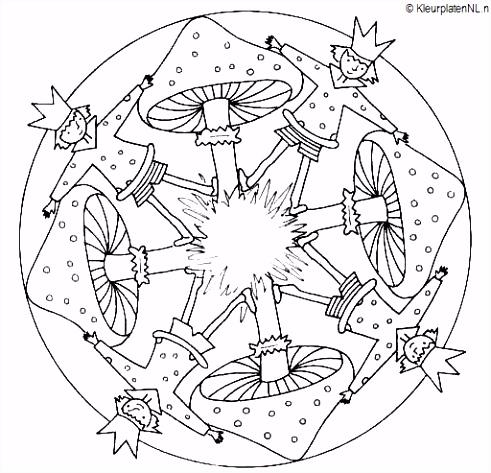 Mandala kleurplaten voor jong en oud Kleuren