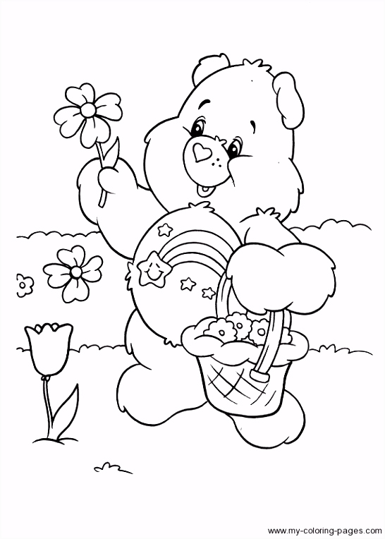 We Bear Bears Coloring Pages Fresh Free Printable Care Bear Coloring