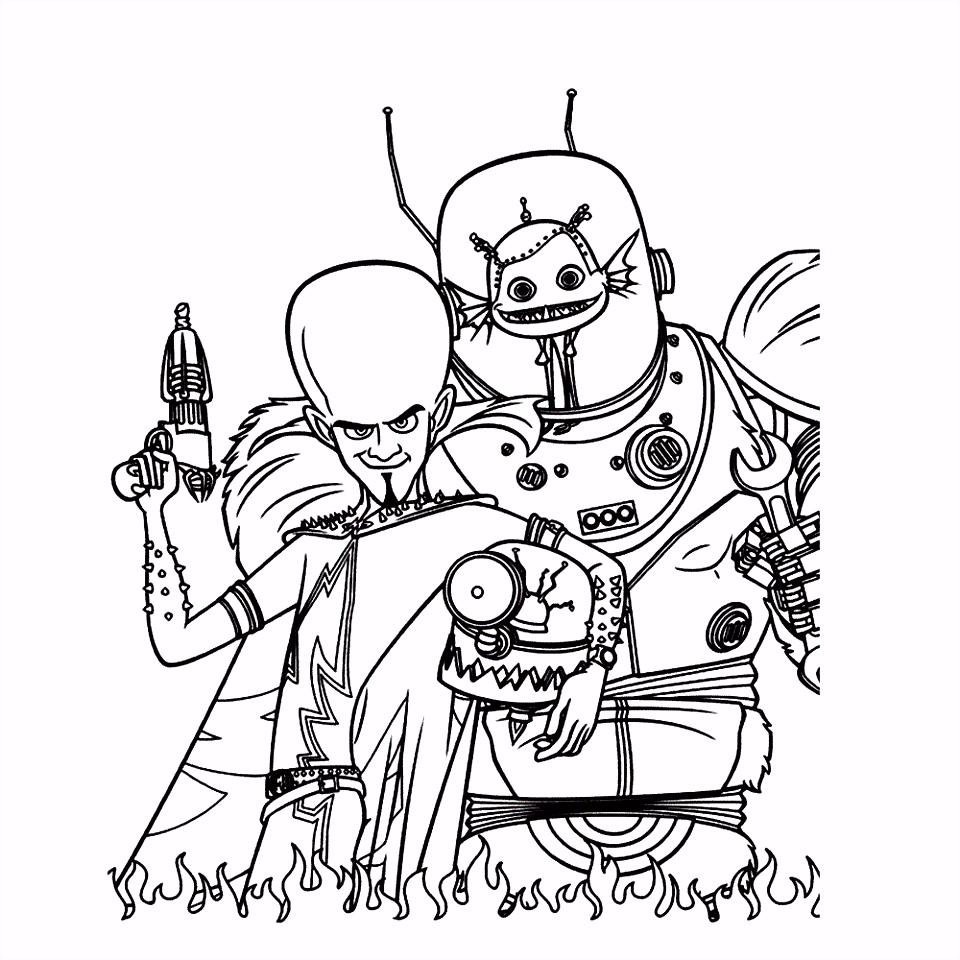 Leuk voor kids – Megamind en zijn hulpje Minion