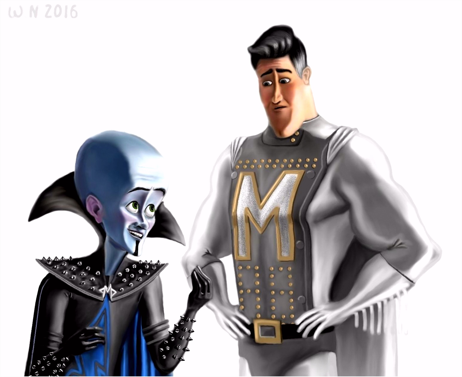 Megamind and Metroman by White Night 56 on DeviantArt