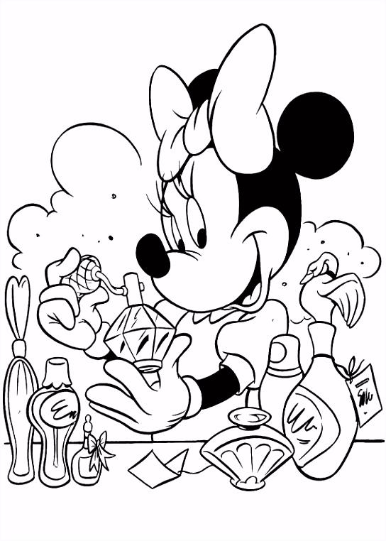 Coloriage Minnie Les beaux dessins de  imprimer et colorier