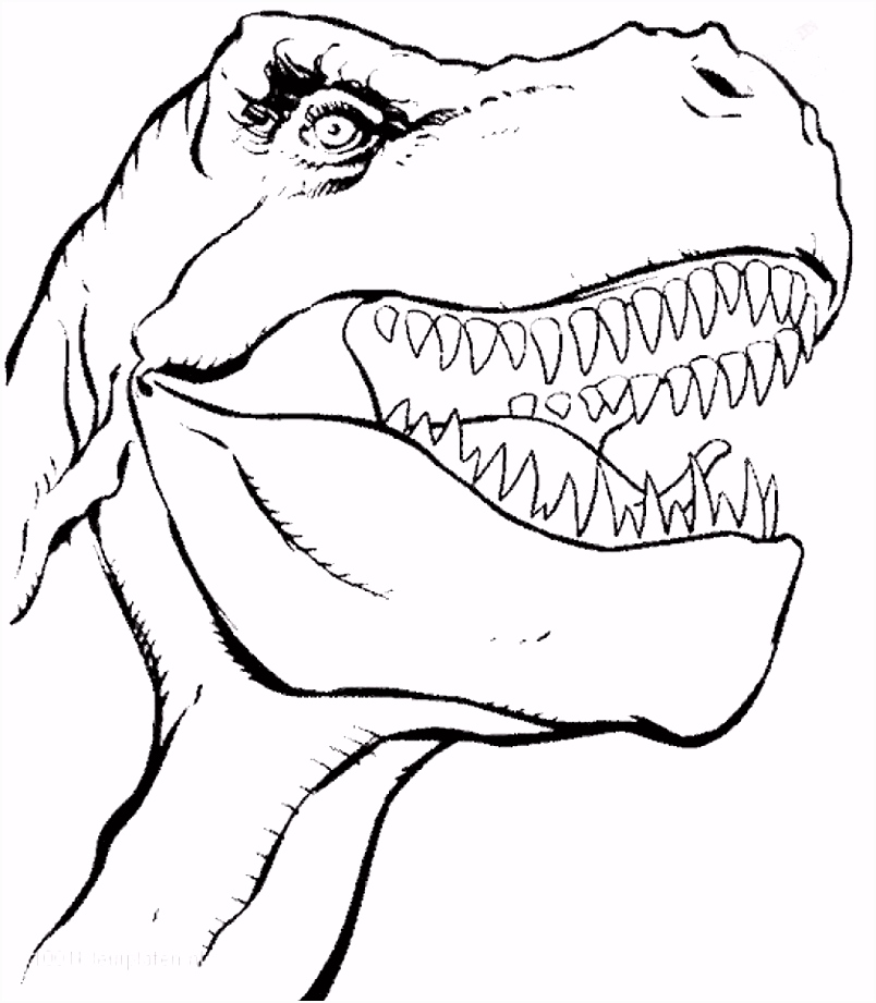 Get This Free Dinosaurs Coloring Pages 72ii21