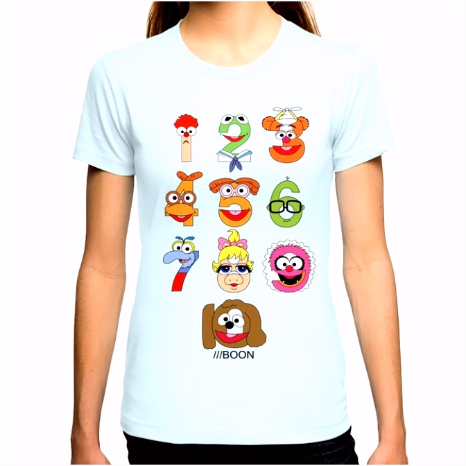 Muppet Babies Numbers T shirt by mbaboon