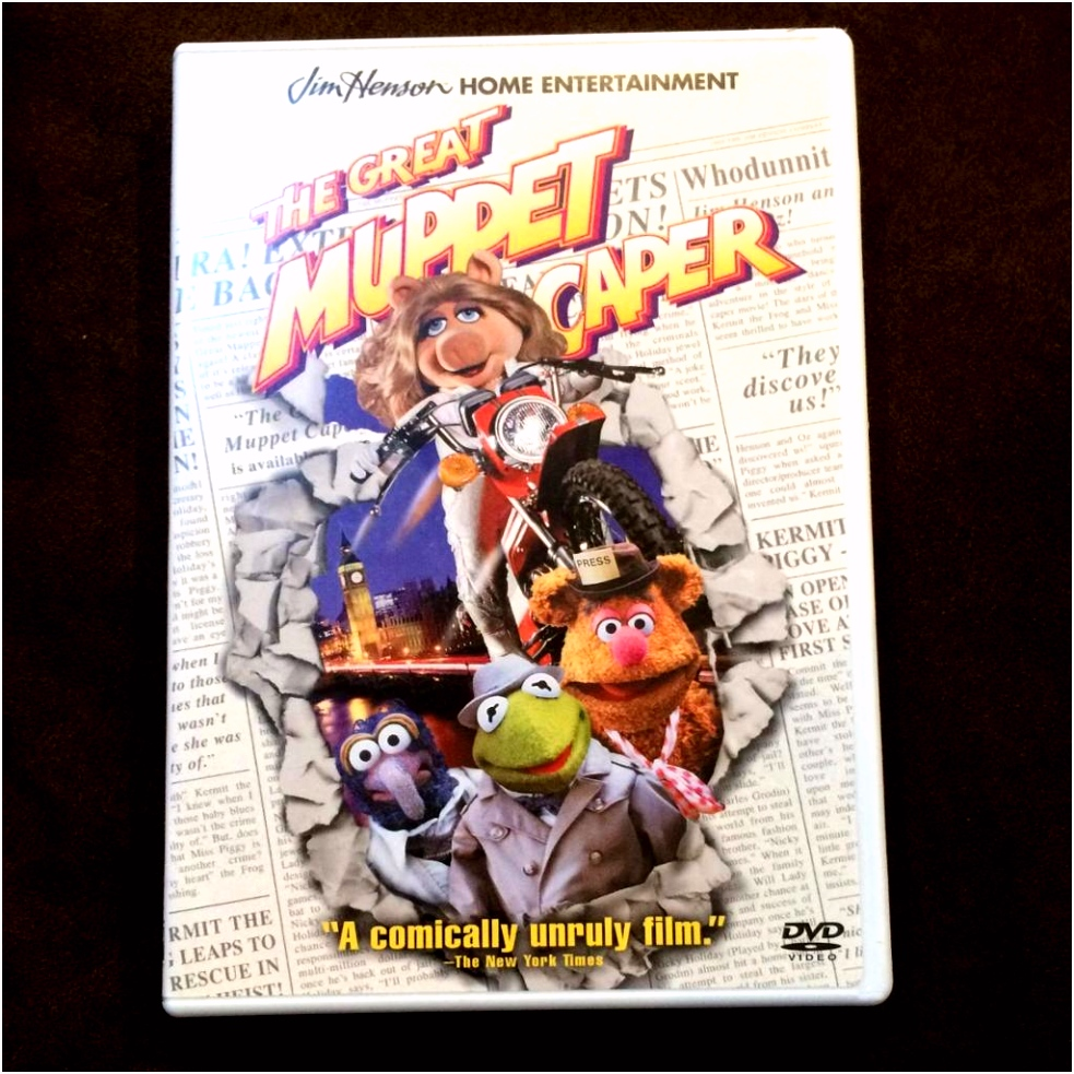 "The Great Muppet Caper"" DVD"