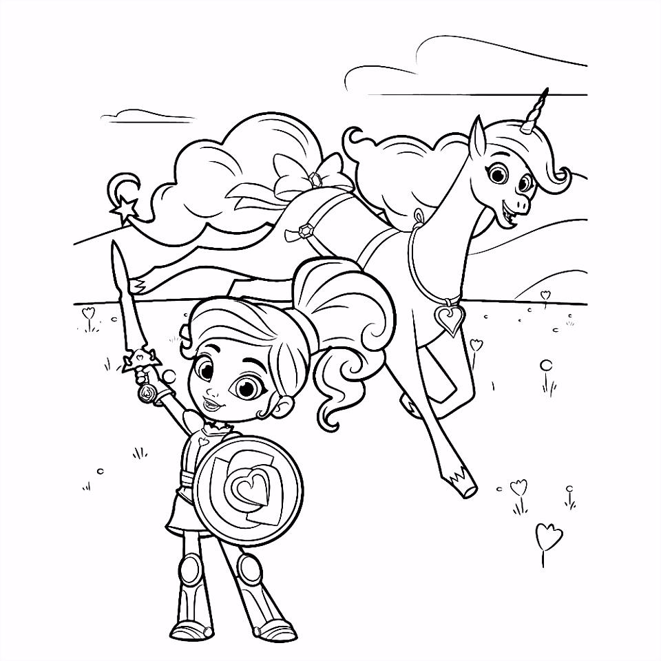 Leuk voor kids – Ridder Nella met Trinket