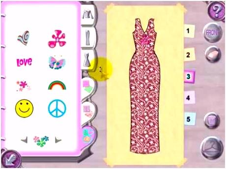 Barbie fashion show video games
