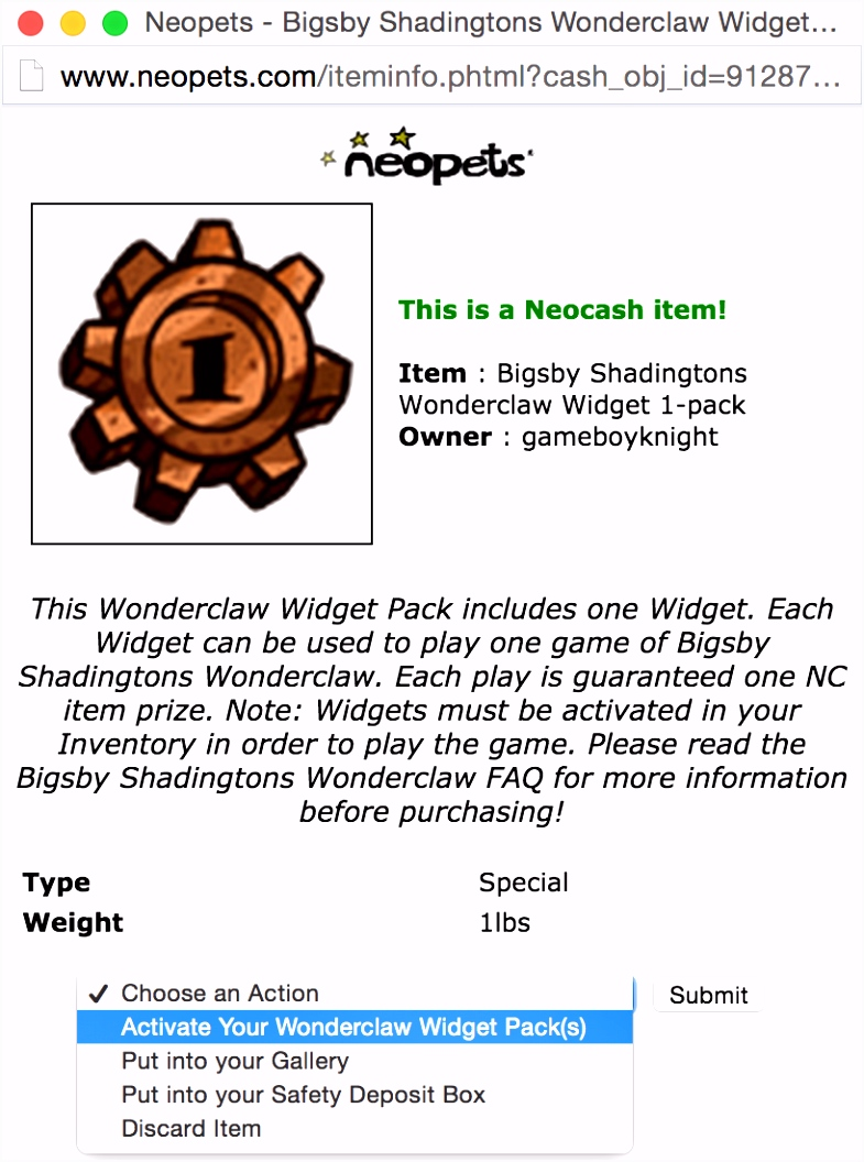 NC Mall Wonderclaw Guide