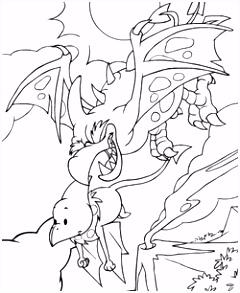 Kleurplaten Neopets Prehistorie Kids N Fun W2bx53ykf6 Duin52asd0