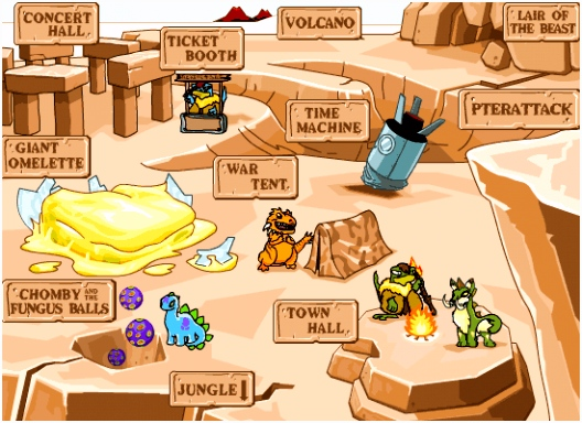 Land Tyrannia Book of Ages Book of Ages Neopets Lore
