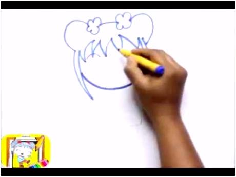 draw ni hao kai lan how to draw ni hao kai lan coloring for kids
