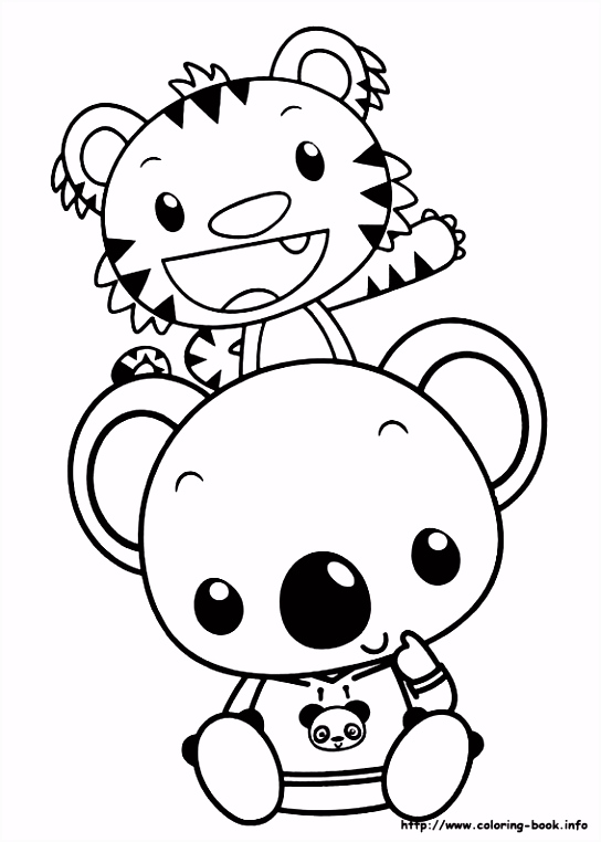Ni Hao Kai Lan coloring picture Coloring Pages