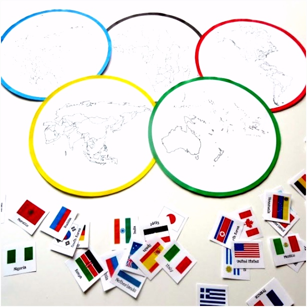 Kleurplaten Olympische Spelen London 2012 Continents and Countries Olympic sort S3au81icu5 Svys26tpcs