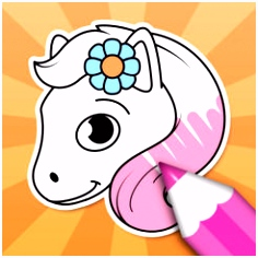 Horse Coloring Sheets on the App Store