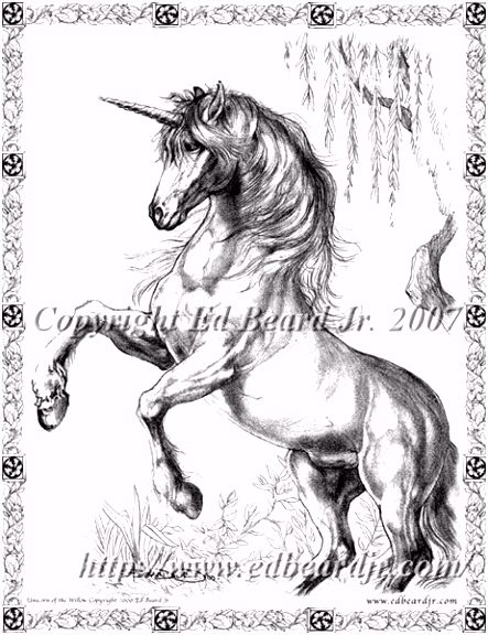 Unicorn Sepia [BEARDJR114]