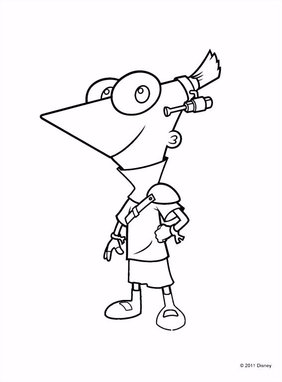 Kleurplaten Phineas Ferb Uitprinten.Kleurplaten Phineas En Ferb Phineas En Ferb Games En Gratis Phineas
