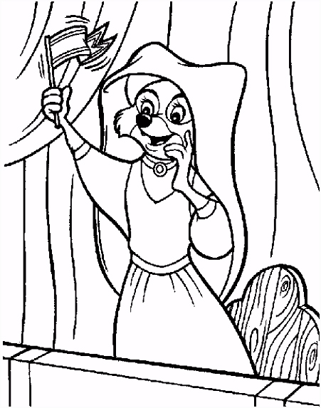 coloring page Robin Hood Robin Hood Coloring pages