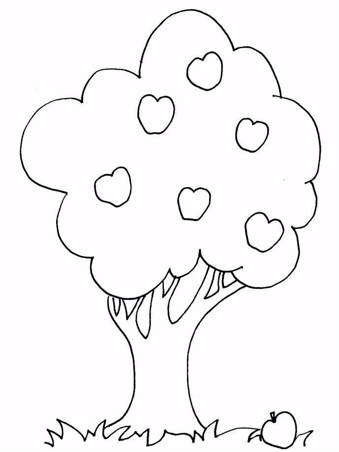 Kleurplaten bomen sewing Pinterest