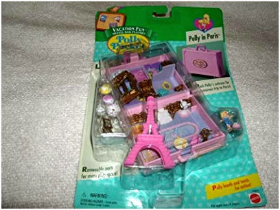Kleurplaten Polly Pocket Amazon Polly Pocket Polly In Paris Vacation Fun Travel Bag Set A3od61hlh5 U6us54bge6