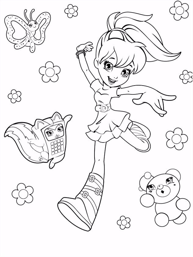 Dibujar a Polly pocket la mu±eca preciosa que enamora a ni±os y
