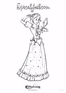 208 beste afbeeldingen van De Efteling Coloring pages Disney