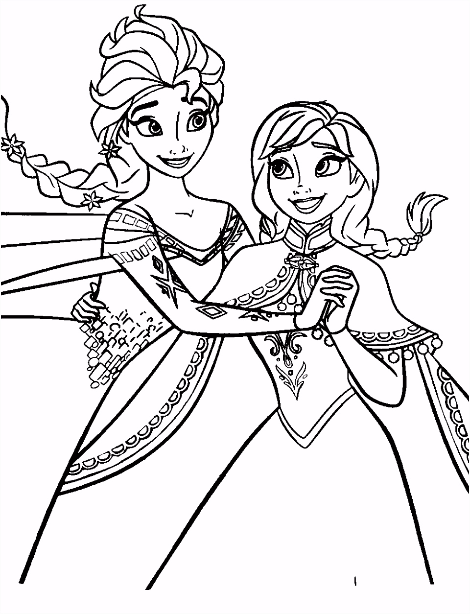 Anna e elsa dancando Legends of the Guardian s