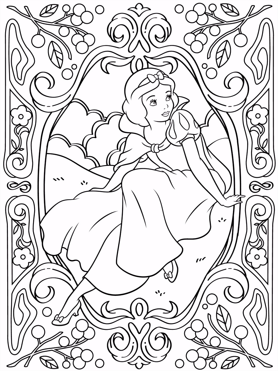 Kleurplaten Prinses Leonora Celebrate National Coloring Book Day with Diy Disney V3hc72tdw8 Xuytsuvez6
