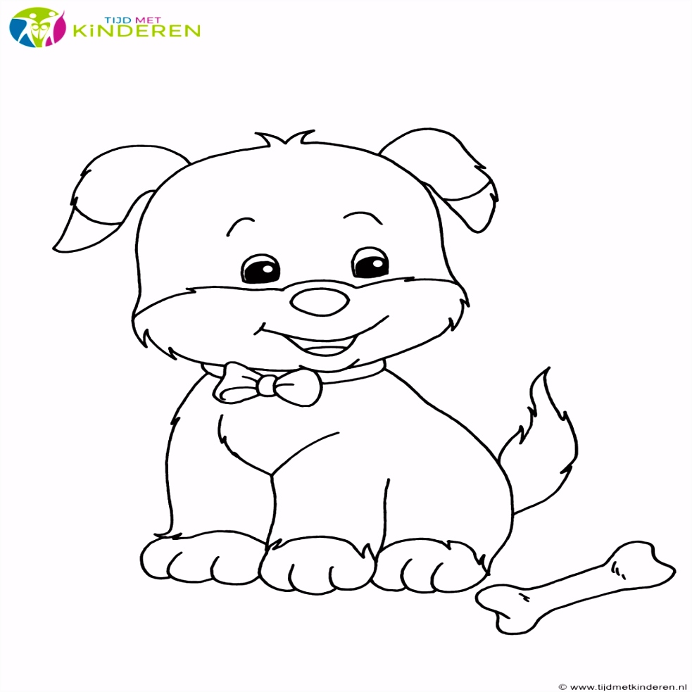 Puppy Kleurplaten Fris Kleurplaten Honden Puppies – Werkbladen en