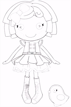 16 best Lalaloopsy Foami Templates images on Pinterest