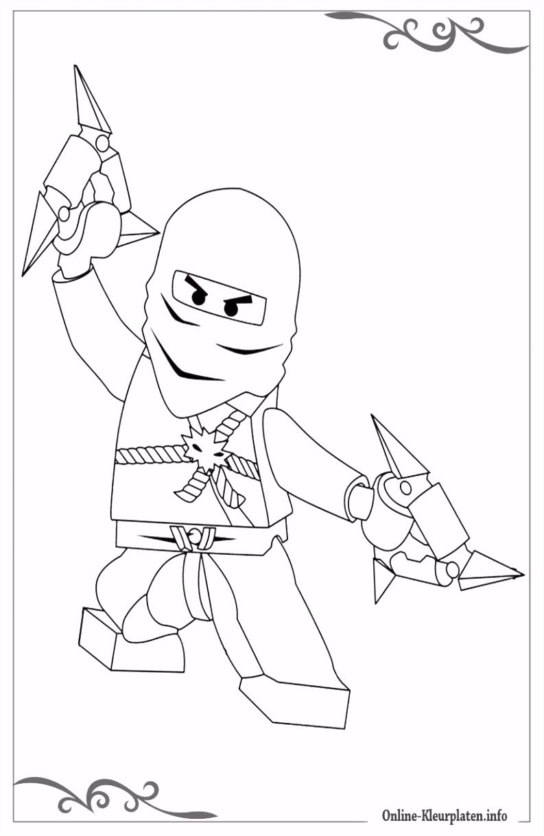 Lego Ninjago de mooiste kleurplaten voor jongens