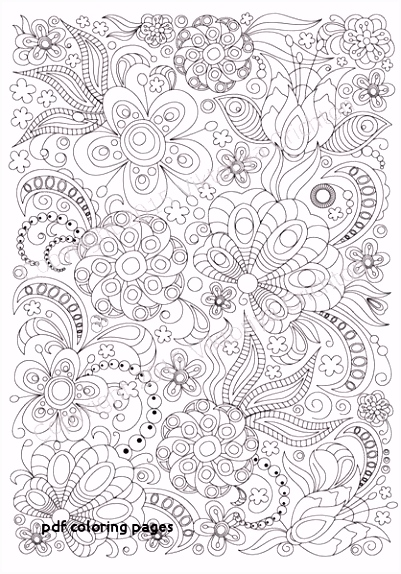 24 Pdf Coloring Pages