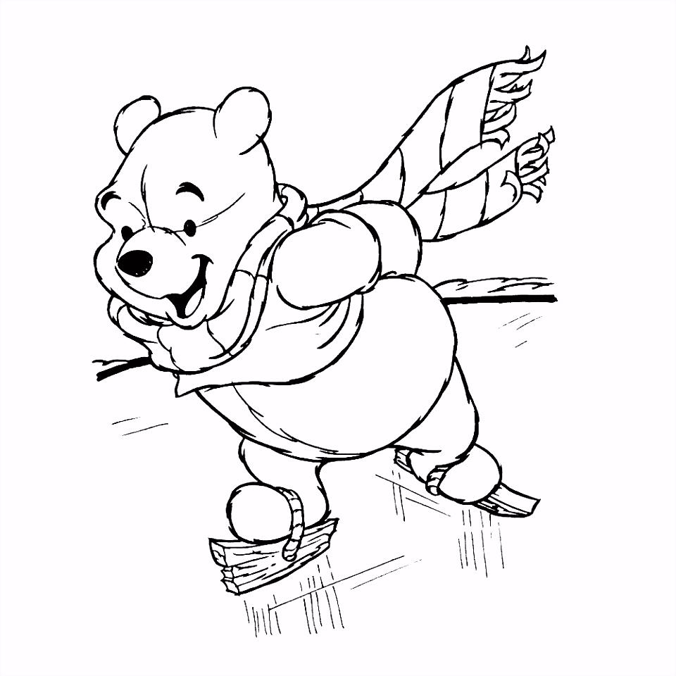 Leuk voor kids – Winnie de Pooh op de schaats