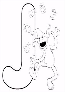 98 beste afbeeldingen van Sesamstraat Elmo coloring pages