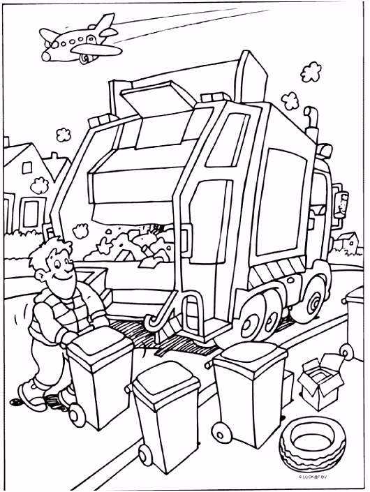 vuilnisman afval