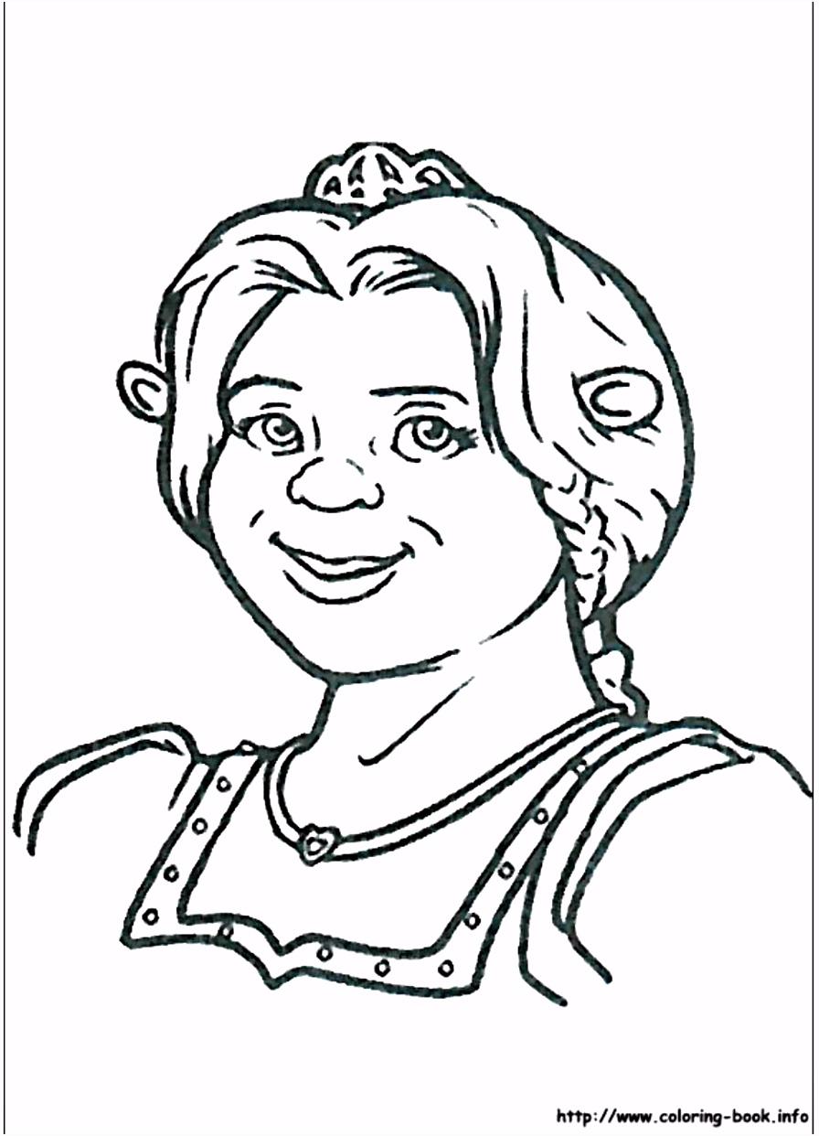 Princess Fiona from Shrek coloring page Princess Fiona